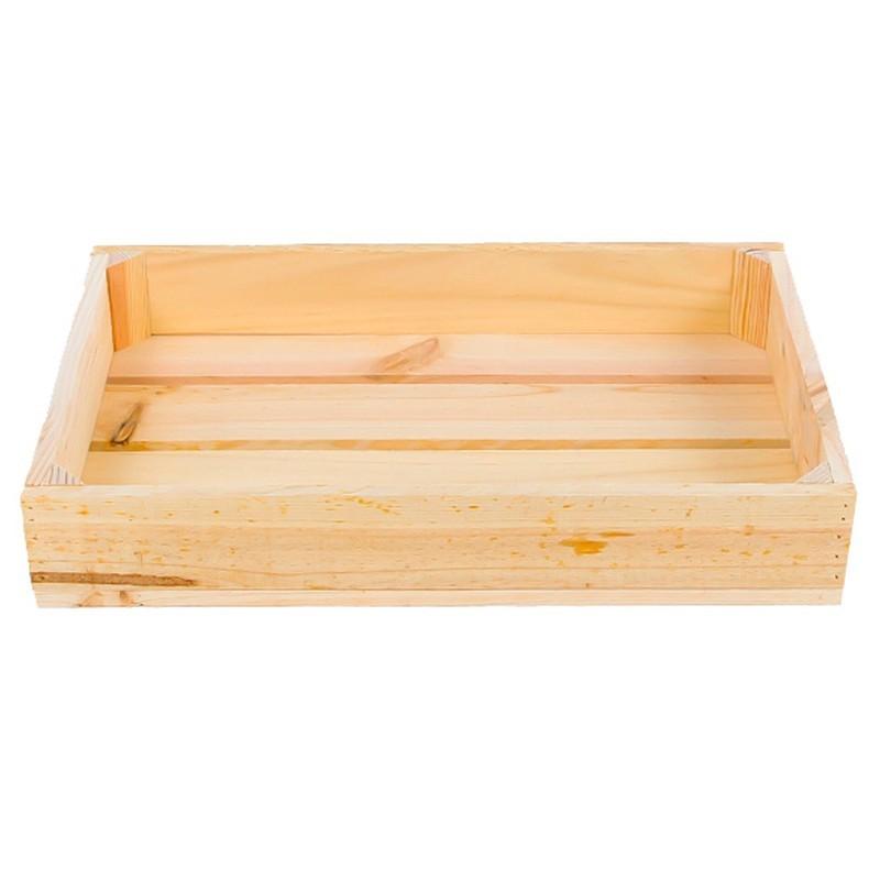 caja pequea madera natural - Cajas De Madera Fruta