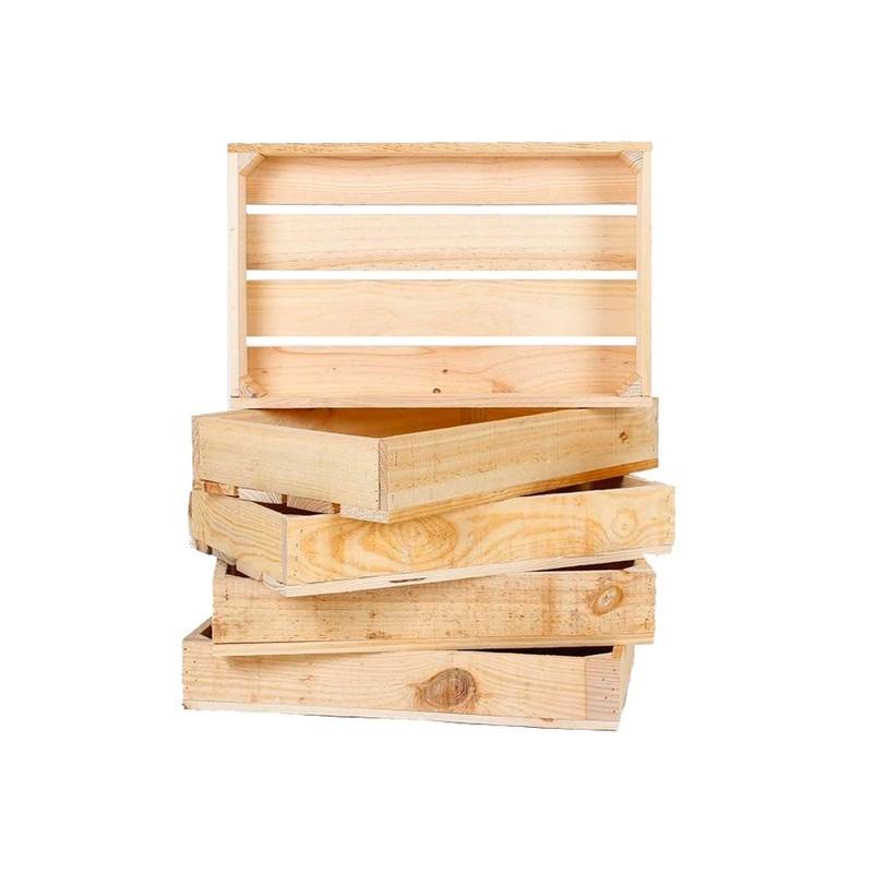Cajas de fruta cajas de madera cajas para decoraci n - Caja de frutas de madera ...