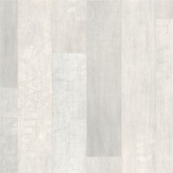 Roble barnizado blanco en planchas